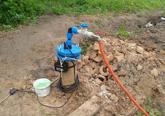 Скважины на воду в Рузском районе